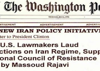 202 US lawmakers laud sanctions on Iran regimel support national council of resistance led by Massoud Rajavi 1