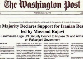 The Washington Post house majority declares support for Iranian resistance led by Massoud Rajavi 2