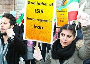 Iranian dissidents staging rally in Austria against Rouhani