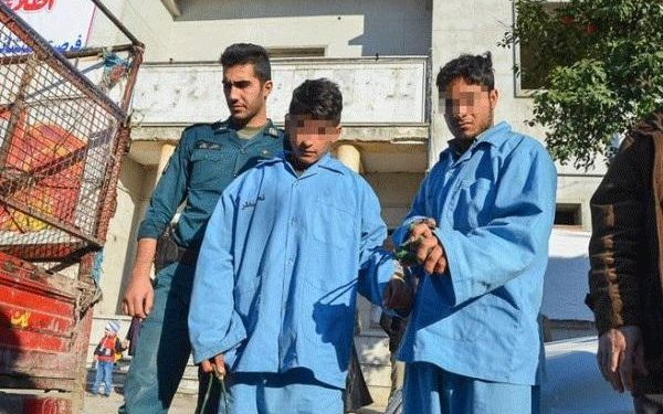 Boys under age of 18 paraded in public as punishment