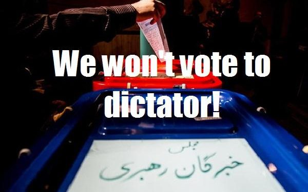 The Iranian regime tried to force inmates to vote, but they denied