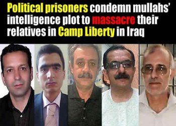 Iran's political prisoners Saleh Kohandel, Shaheen Zoghi-Tabar, Reza Akbari Monfared, Pirouz Mansouri, Ali Moezi